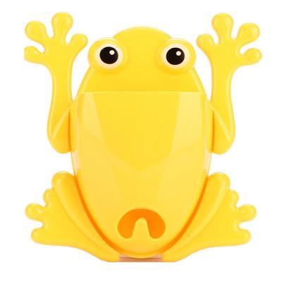 创意家居多功能卡通青蛙造型收纳架/牙刷架
