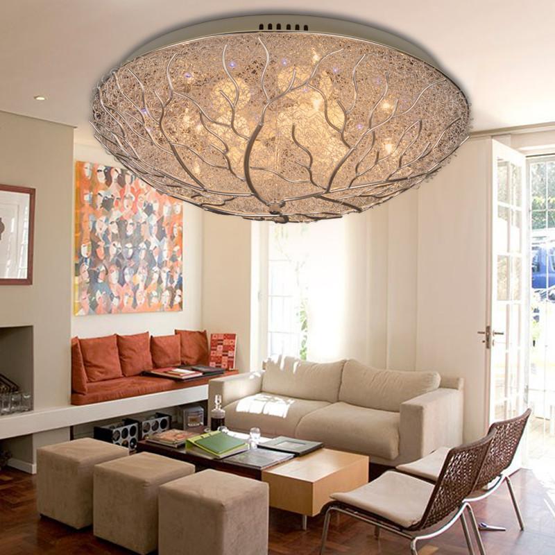 罗可led吸顶灯具客厅灯创意时尚鸟巢灯卧室灯餐厅灯x