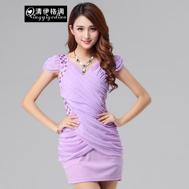 紫色包臀裙搭配什么鞋子