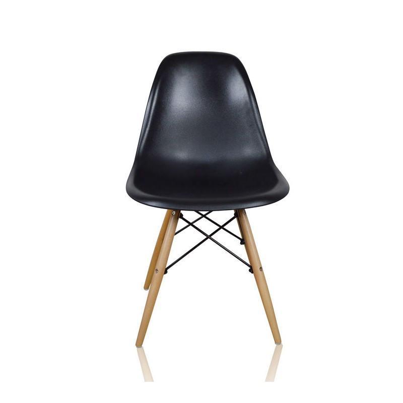 理佳木业 出口创意餐椅设计师椅子 凳子伊姆斯椅xh-8056 黑色图片