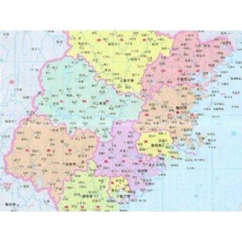 福建省地图(1:800000最新版)【报价