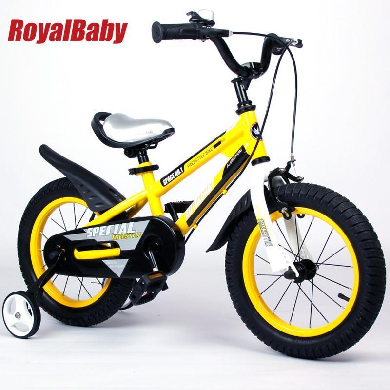 【全网首发】优贝儿童自行车新款小黄车14寸【报价