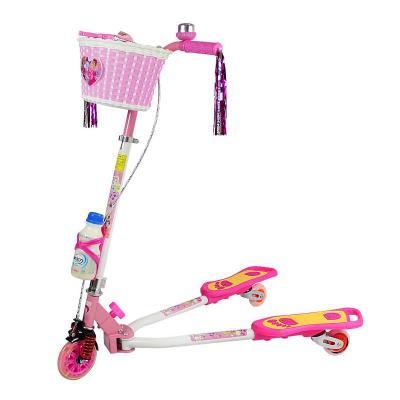 儿童三轮闪光轮蛙式车踏板车