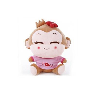 可爱悠嘻猴情侣笑脸猴公仔毛绒玩具婚庆