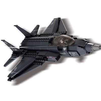 积木飞机拼装图纸