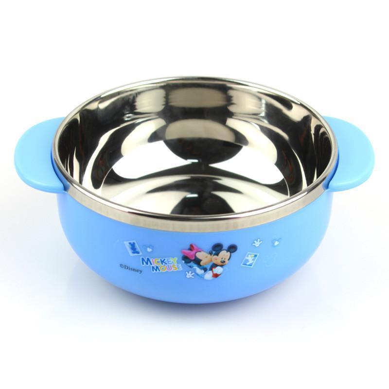 【迪士尼】迪士尼儿童碗宝宝碗不锈钢儿童餐具可爱碗