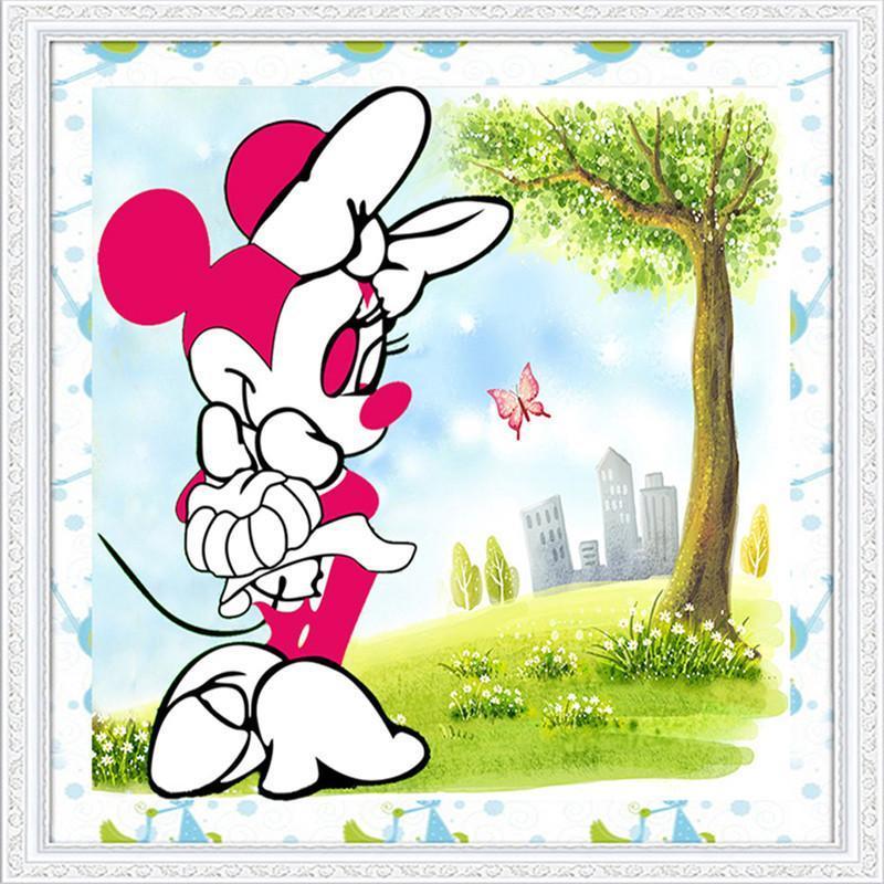 淘淘佰度(ttbd) 钻石画卡通系列 可爱米老鼠