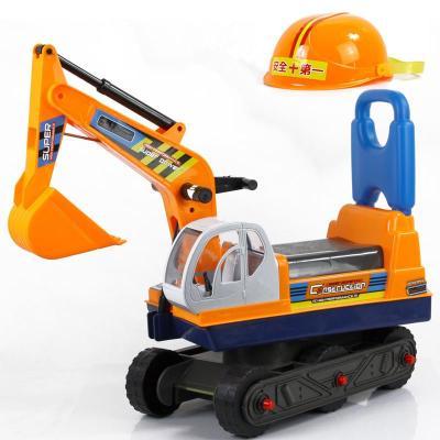 儿童玩具车挖土机可坐可骑挖掘机超大号仿真