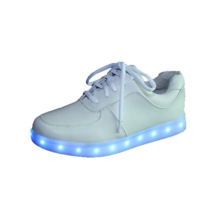 发光鞋夜光鞋/七彩led灯光鞋情侣男/女板鞋/usb充电g