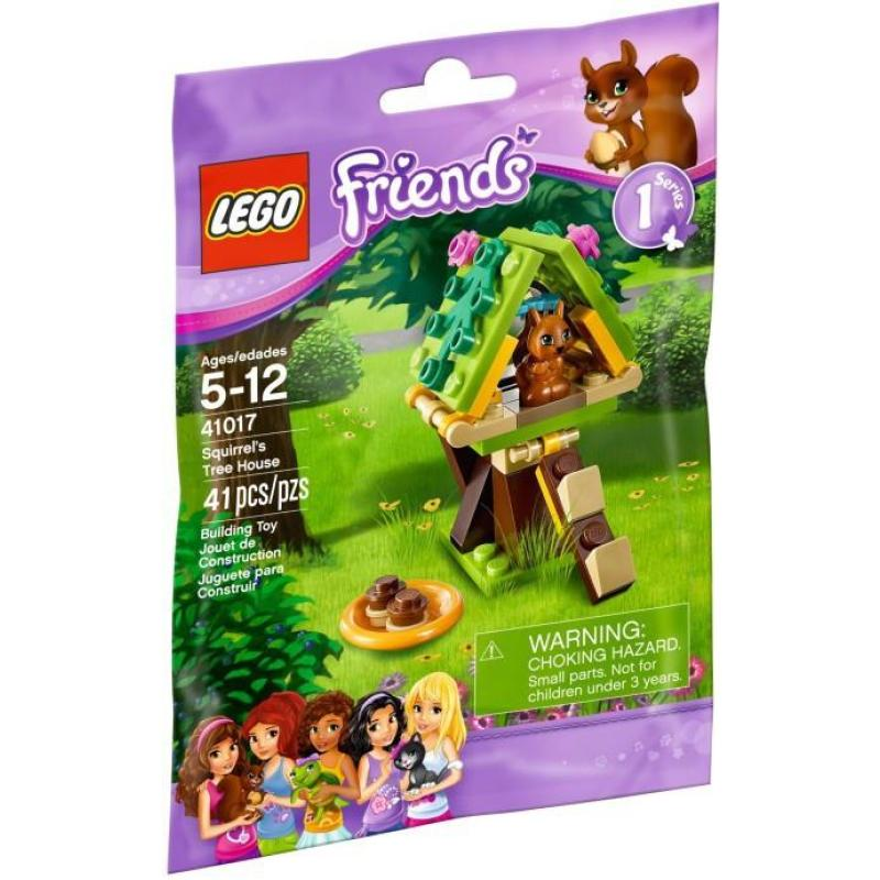 乐高lego 41017 friends 小松鼠的树屋new 2013