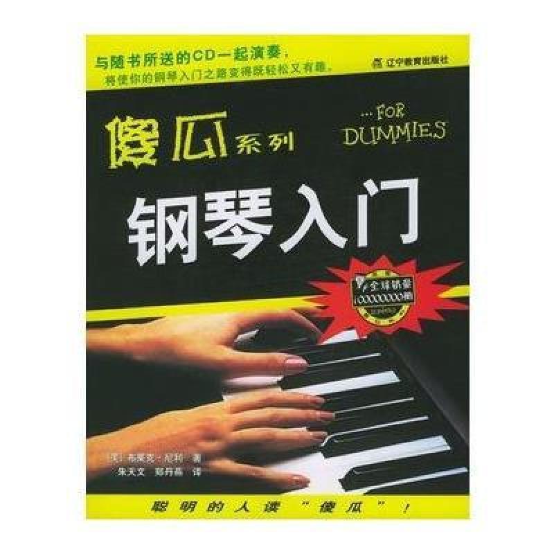 傻瓜系列--钢琴入门图片