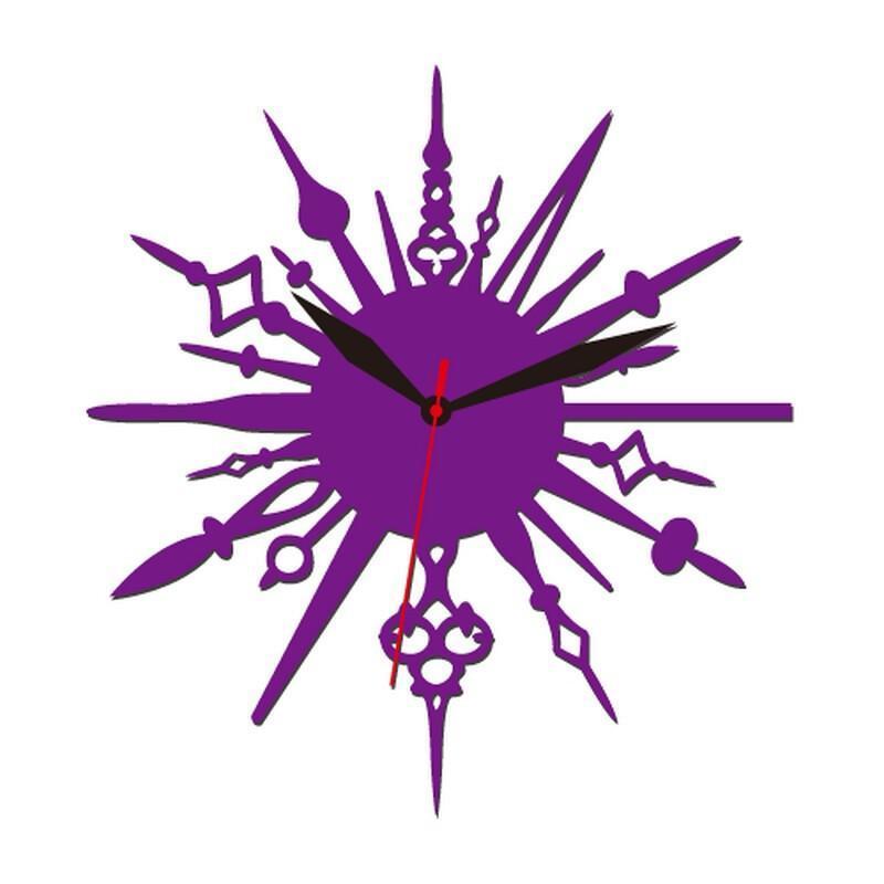 个性一百 超越时空创意时钟edg2906客厅欧式挂钟钟表
