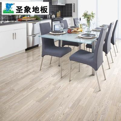 【圣象地板】圣象康逸实木地板三层实木复合白富美ks