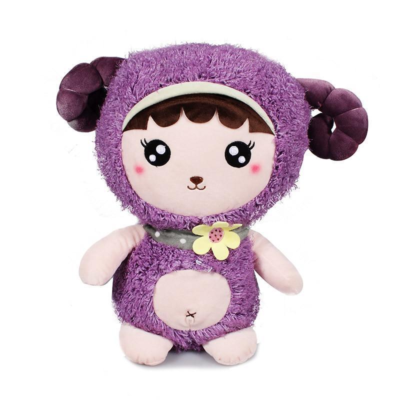 可爱毛绒玩具创意羊公仔布娃