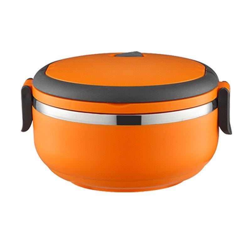 锐友单层正品不锈钢保温饭盒桶可爱学生便当盒套装保温桶保温提锅