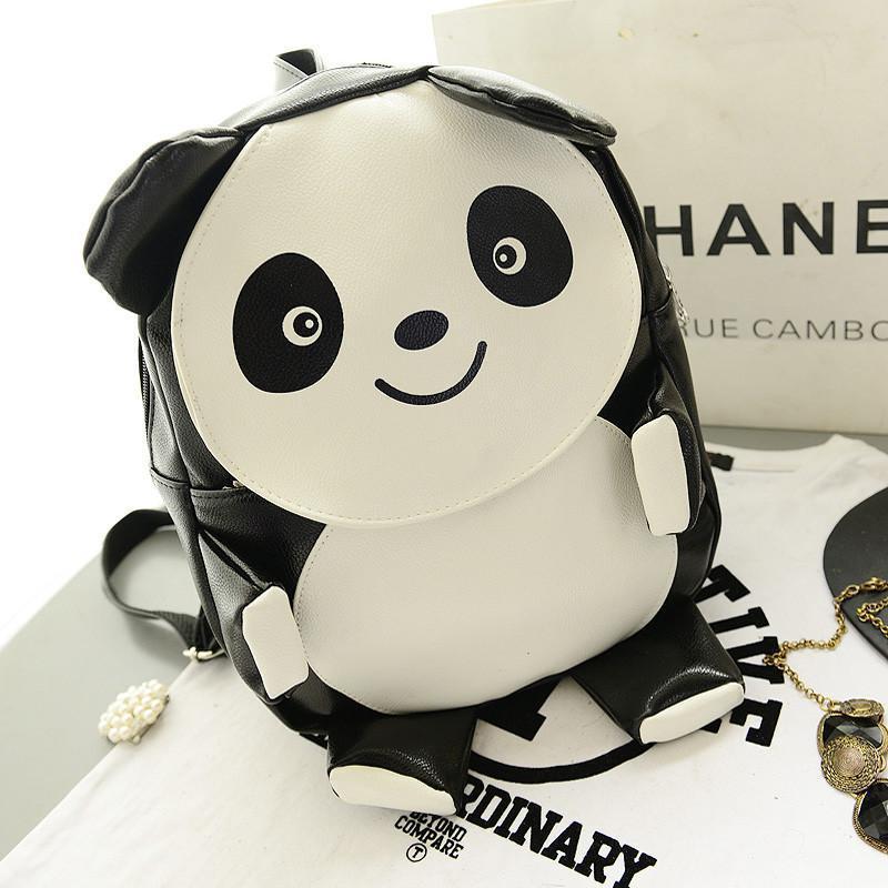 熊猫pu卡通可爱超萌包