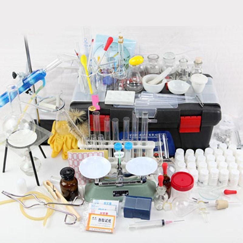 初中高中化学实验探究器材 家庭化学实验箱 大尺寸 玻璃试剂