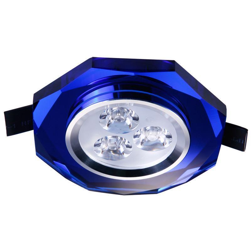 八角形水晶天花灯射灯3