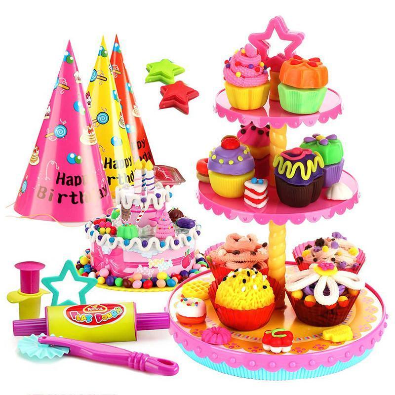 开心派对儿童玩具手工彩泥橡皮泥