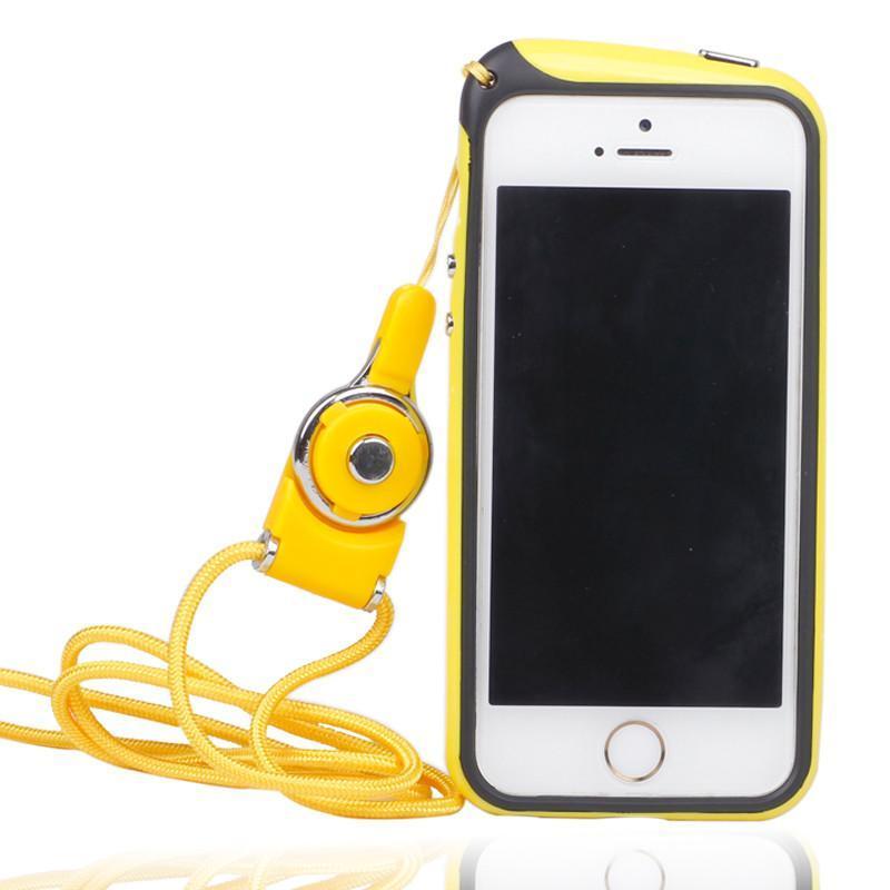 意达欧 苹果5s挂脖手机壳 挂脖子手机套 边框 苹果iphone5/5s边框