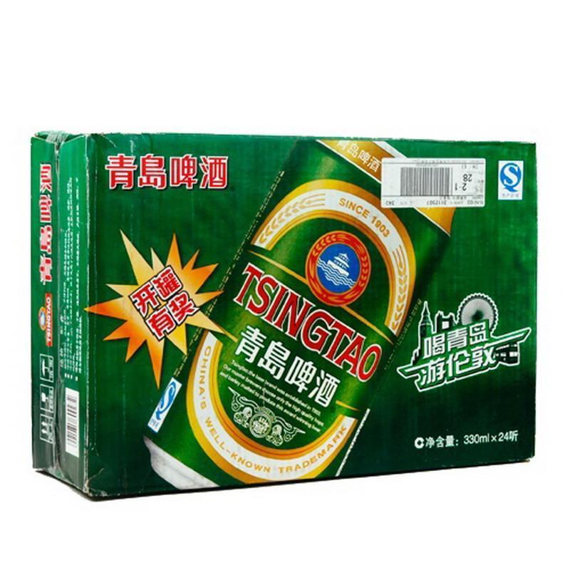 青岛啤酒(整箱装 24*330ml)