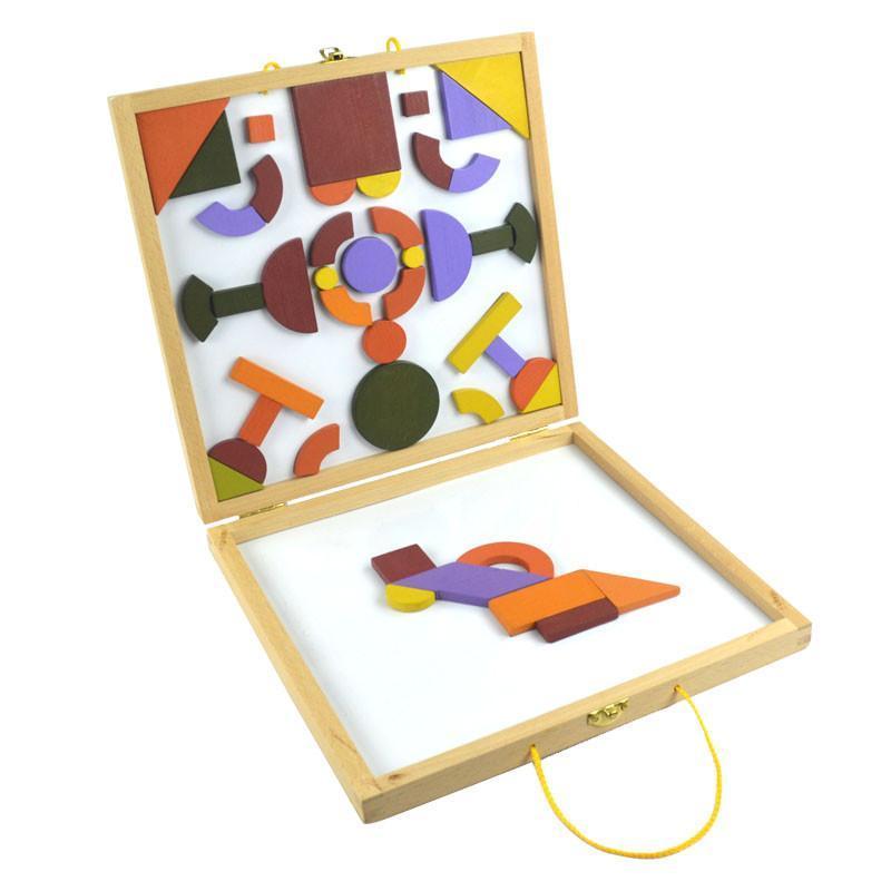 百变磁性拼图 儿童益智玩具