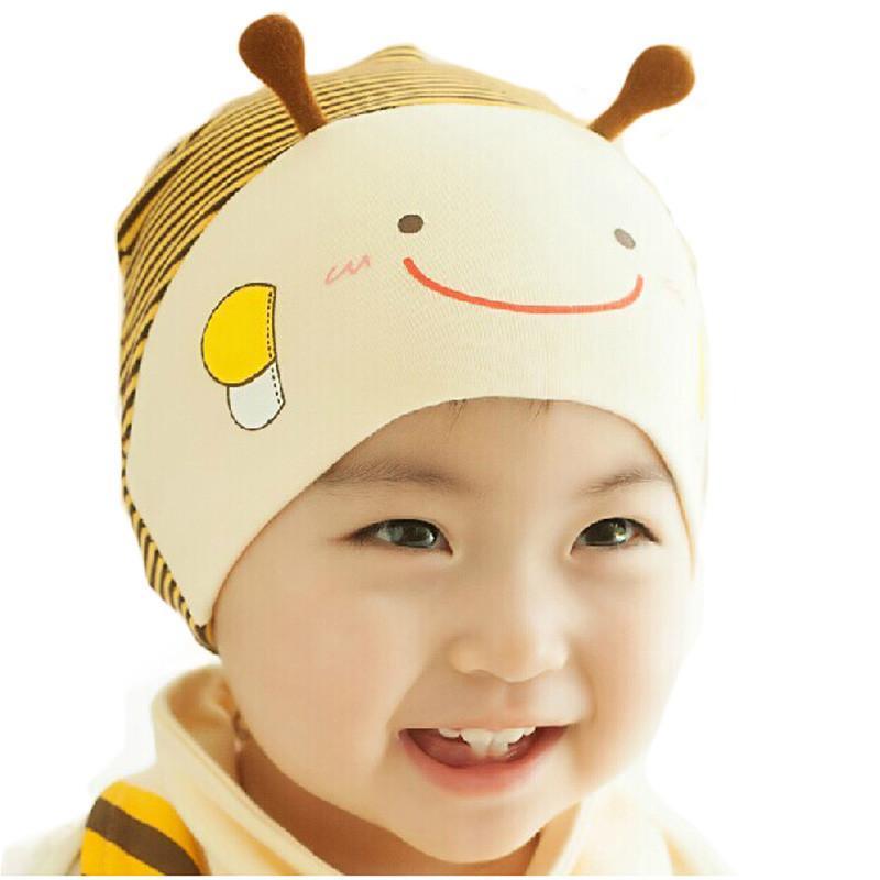 公主妈妈春秋季新款韩版小蜜蜂棉布套头帽