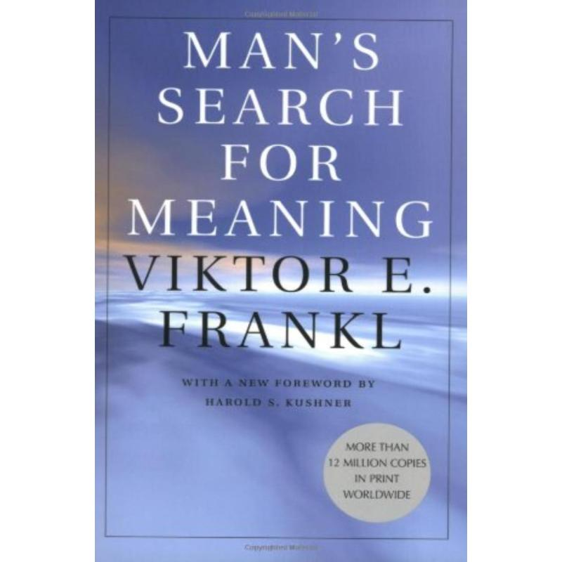 man s search of meaning Man's search for meaning has 223,153 ratings and 11,676 reviews frank said: after i read this book, which i finished many.