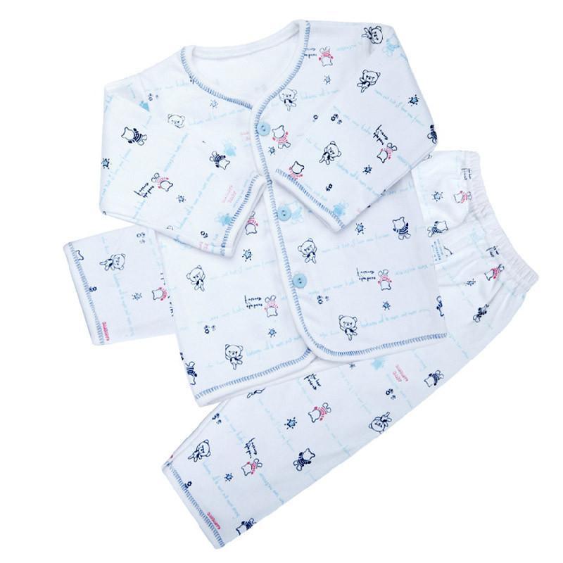 纯棉宝宝内衣和尚服