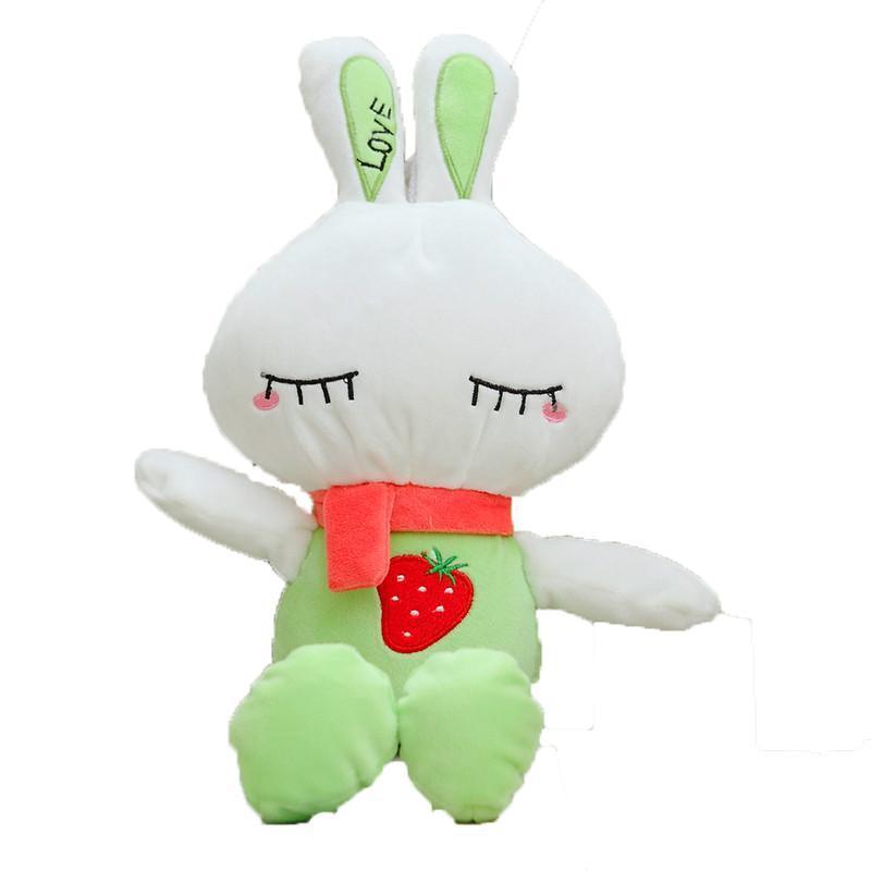 兔子毛绒玩具可爱布