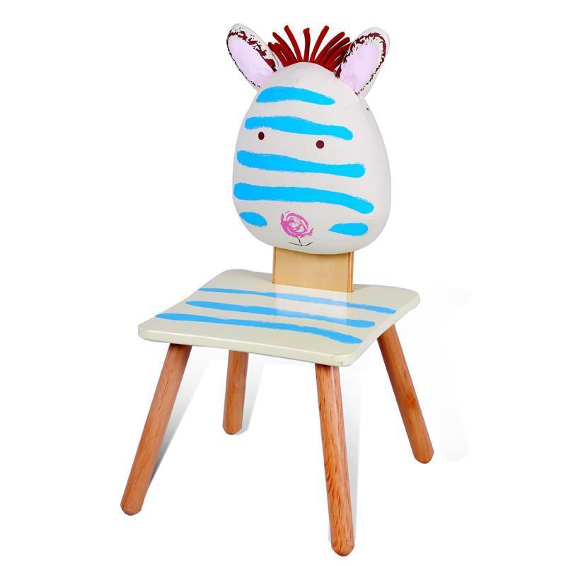 家具宝宝凳可爱卡通动物靠背椅实木宝宝椅子安全环保