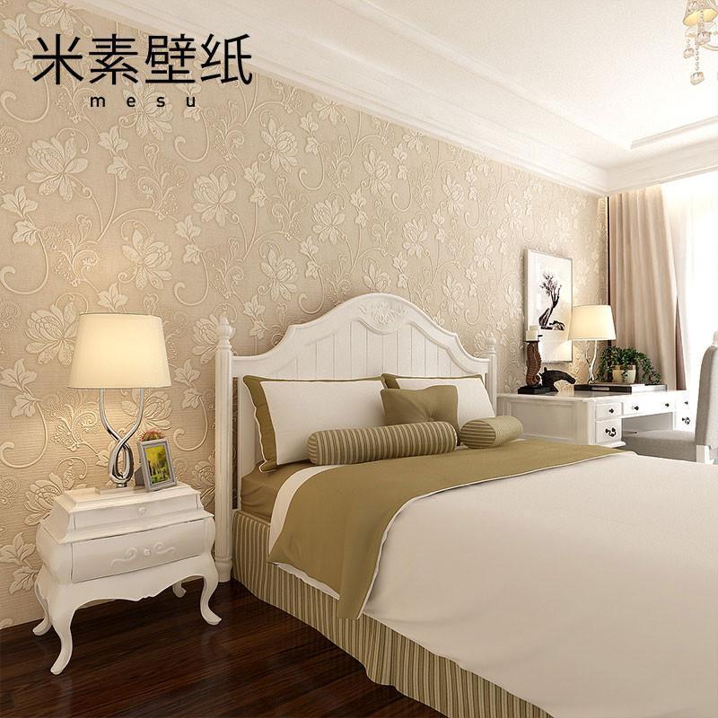 欧式墙纸无纺布 客厅卧室背景墙壁纸