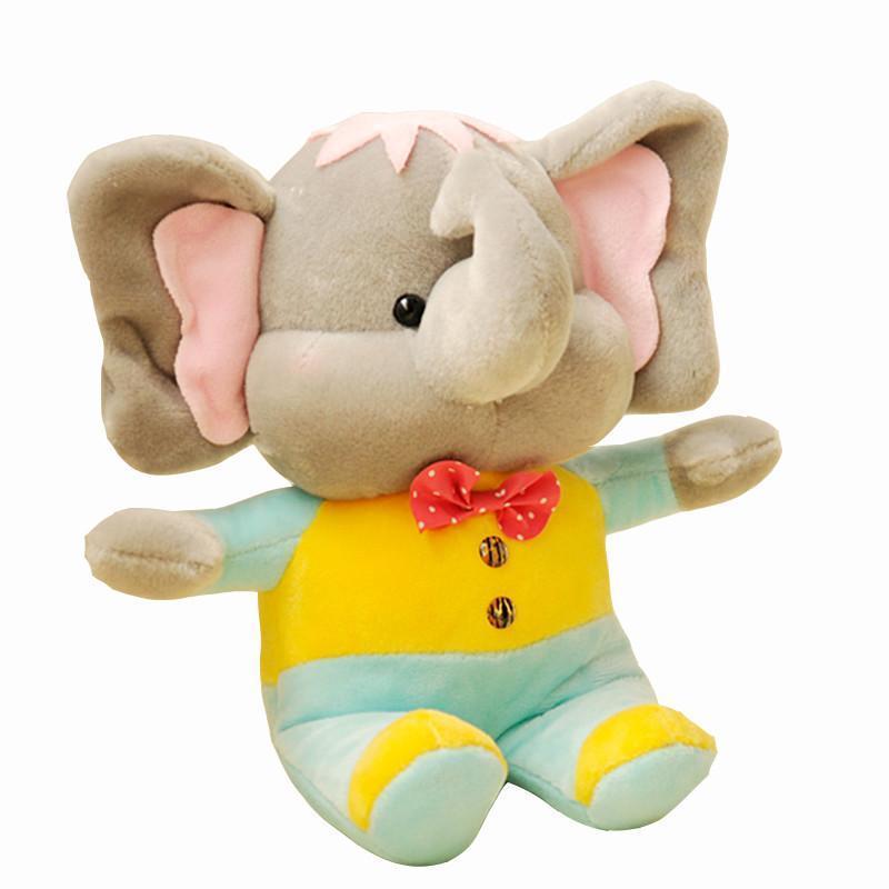 绒言绒语贝贝象可爱毛绒玩具小象布娃娃公仔汽车饰品