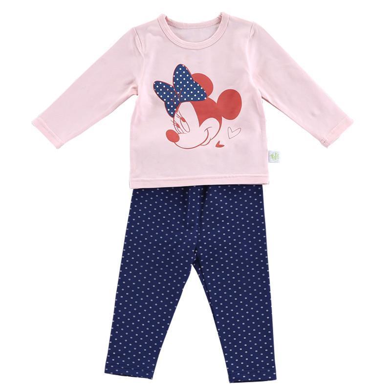 【永卓母婴】迪士尼快乐宝贝莱卡素色女童内衣
