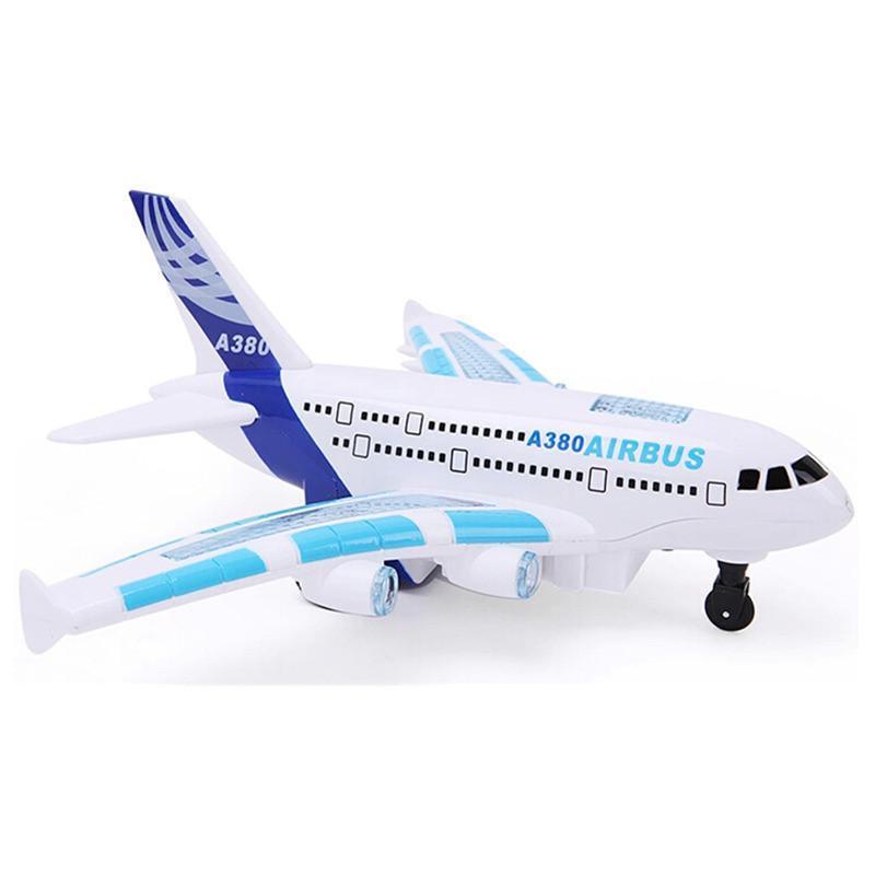 仁达充电遥控飞机 遥控玩具飞机 儿童遥控固定翼飞机模型 a380空中