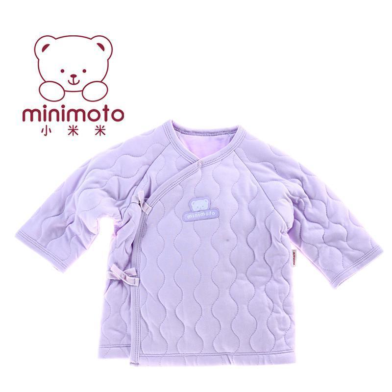 米冰雪童话婴儿和尚服新生儿秋冬保暖夹棉宝宝和短袍