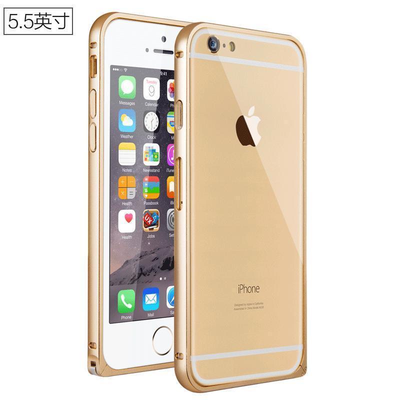 moisysiphone6手机壳苹果6plus海马扣设计金属边框