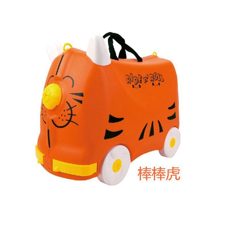 箱宝宝卡通行李箱可爱男女拉杆箱可坐可骑