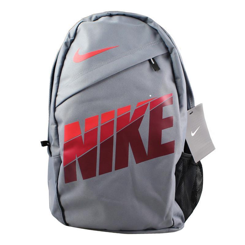 nike耐克中性款双肩包背包书包休闲包运动包 ba4379-062 灰色图片