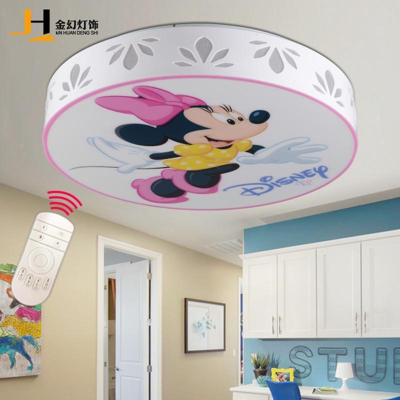厨具 家居照明 吸顶灯 金幻 金幻儿童房小孩卧室灯创意可爱卡通灯饰.