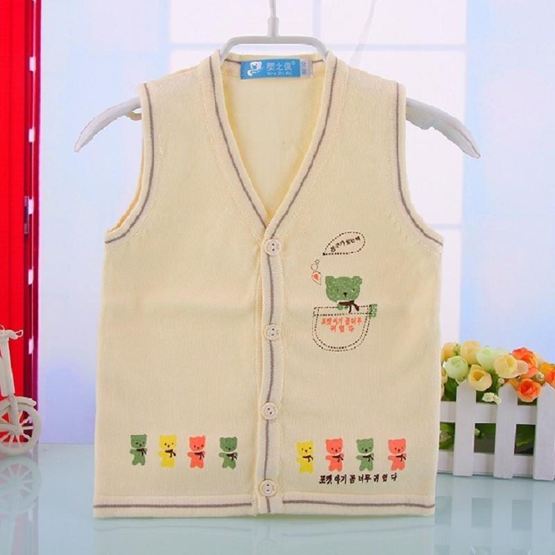 新款韩版儿童毛线马甲背心