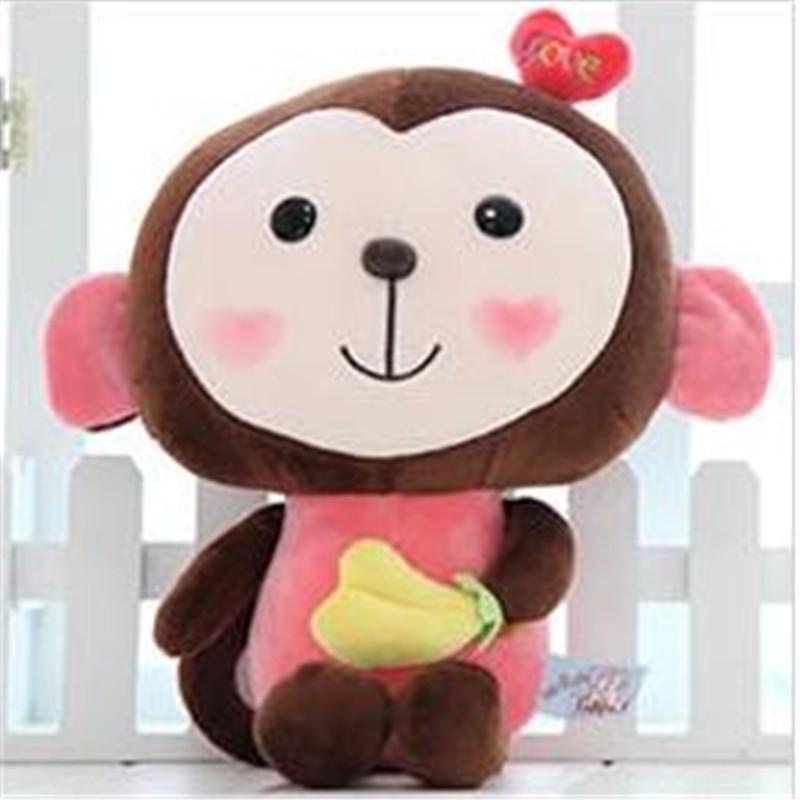 可爱大嘴猴毛绒玩具悠嘻猴公仔压床布娃娃创意情人节生日礼物女生p 西