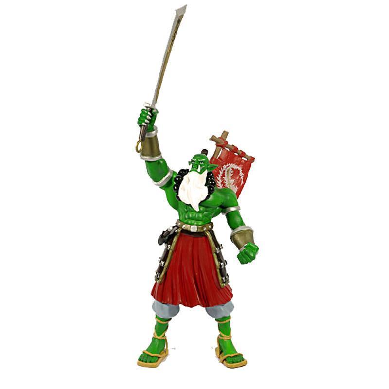 超低价暴雪周边魔兽世界手办wow魔兽剑圣手办格罗姆