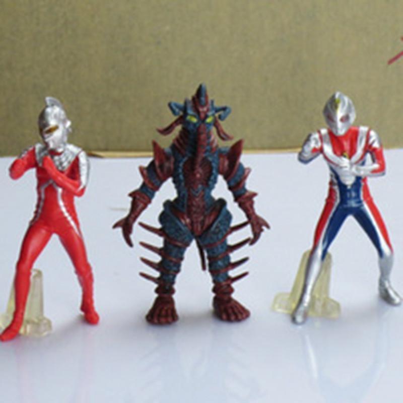 全18套98款奥特曼咸蛋超人怪兽男儿童模型