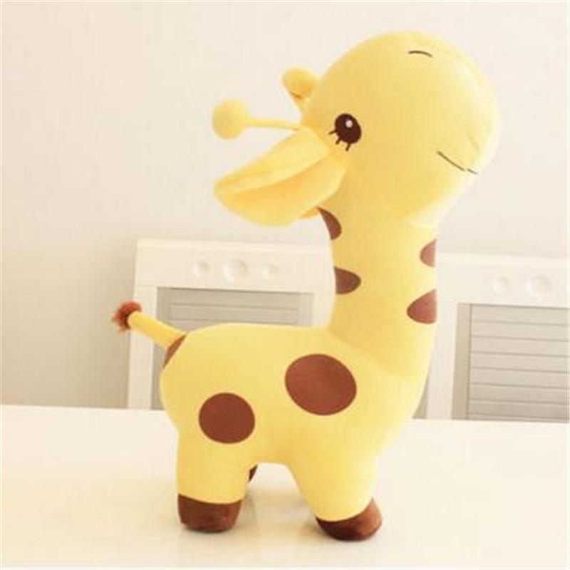 长颈鹿公仔抱枕毛绒玩具压床布娃娃可爱玩偶布偶毕业