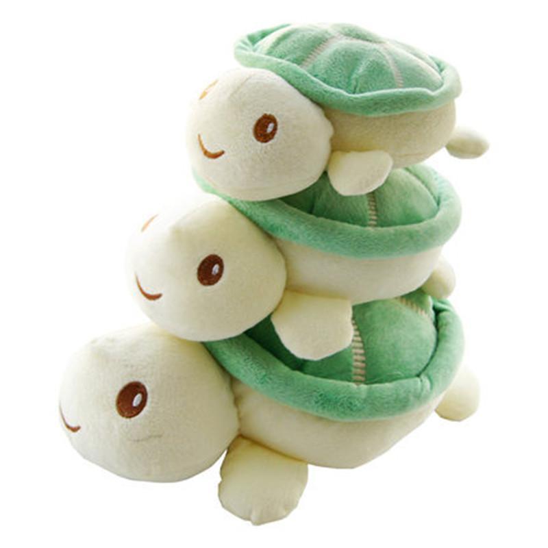可爱粉嘟嘟 绿色小乌龟毛绒玩具公仔