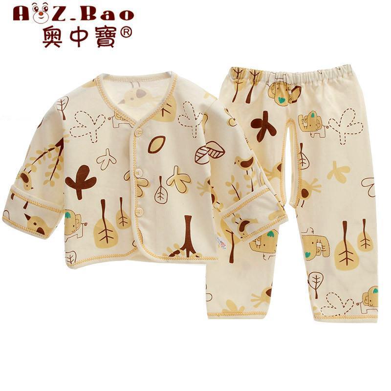 0-6个月有机棉和尚服婴儿