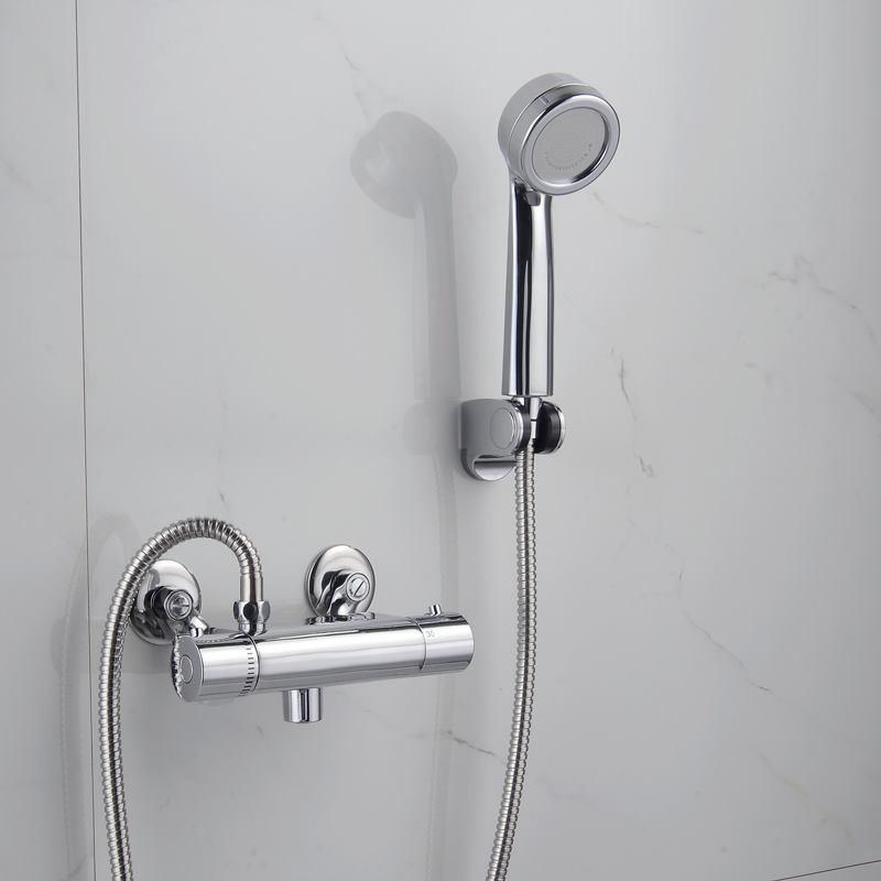 暗装恒温阀 淋浴恒温混水阀 温控水龙头图片