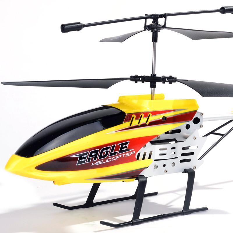 合金遥控飞机耐摔充电遥控飞机模型直升机航模男孩