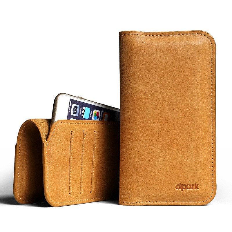 d-park 苹果iPhone 6 6plus真皮手机套苹果4.7寸